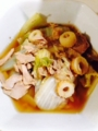 オクラ納豆 ツナと白菜のくったり煮 豚しょうが焼き