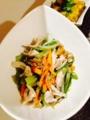 納豆玉子焼き もやしと小松菜のナムル 梅あんかけ豆腐ハンバーグ