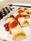 ニラともやしのナムル 豆腐としめじの 味噌汁 中華ダレの春巻き