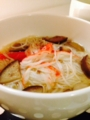 厚揚げと大根の甘辛煮 さんま塩焼き 茄子と素麺の味噌汁