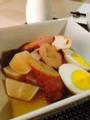 大根厚揚げ卵おでん風 ゴーヤキムチチャンプルー なすとわかめの味噌
