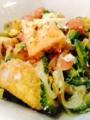 酢豚 厚揚げゴーヤチャンプル きゅうりの味噌マヨディップ