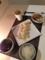 白菜とツナの煮浸し 春巻き ワカメと玉ねぎの味噌汁