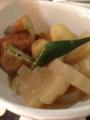 大根と枝豆がんもの関東煮 秋鮭塩焼き とろろめかぶ冷奴 ごま納豆