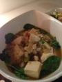 麻婆豆腐 ゴーヤチャンプル 味噌クリームコーンシチュー