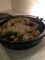 湯豆腐 鍋 水菜 白菜 エノキ