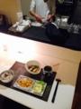 エビフライ レタスとハムのスープ 厚揚げと白ネギ炒め