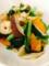 @ポテトサラダ コロッケ ワカメときゅうりの酢の物 小松菜のガリバタ