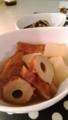 サバとオクラの塩焼き