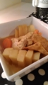 大根と豆腐の味噌バター煮