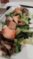 鮭とレタスのレモンバター