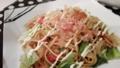 小松菜と白滝の中華炒め