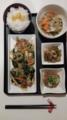 牛肉小松菜オイスタ炒