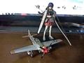 EASY MODEL1/48P-51マスタング&艦これPMフィギュア赤城