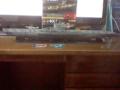 タルガ製1/144のUボートVII型の全体図