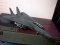 ハセガワ製1/72のF-14Aトムキャット閉