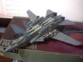 ハセガワ製1/72のF-14Aトムキャット裏