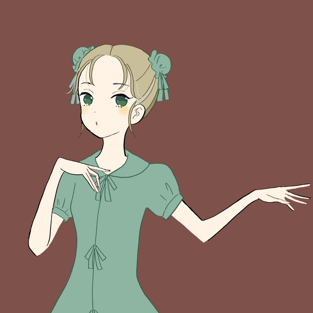 チャイナ服の女の子のイラスト素材