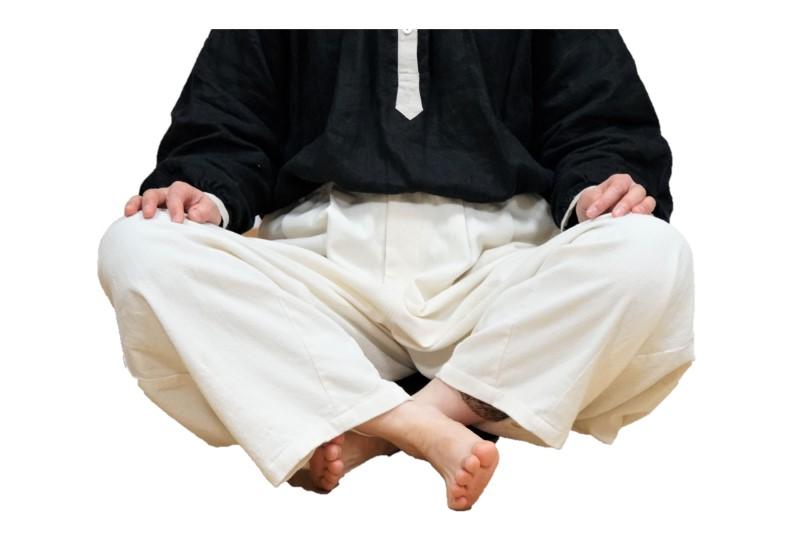 坐禅の仕方,ダメな例
