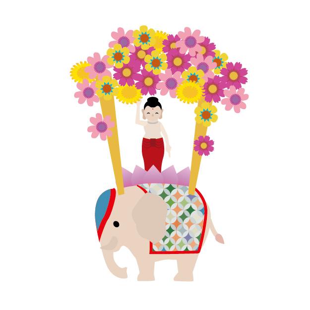 花祭り,降誕会,ブッダの誕生日