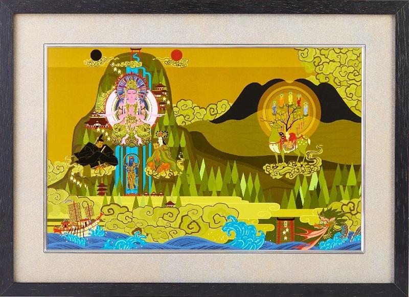 日本曼荼羅,仏画