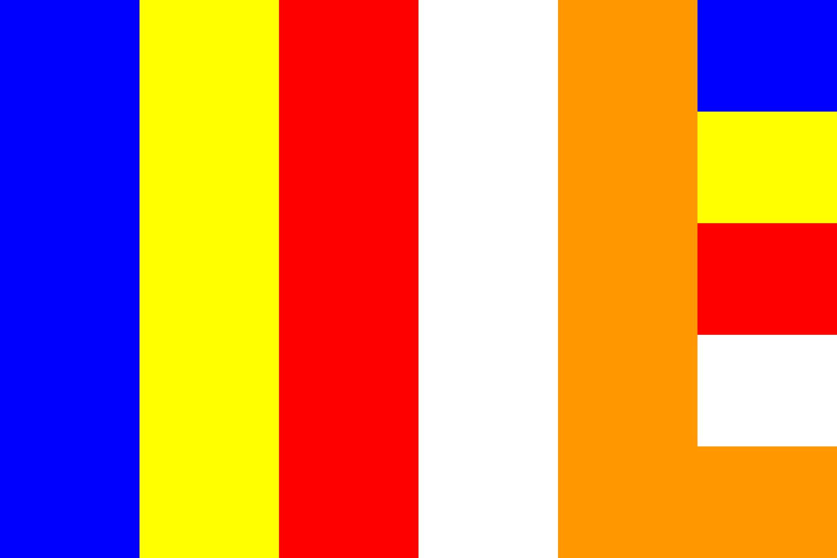 仏旗(新五色)