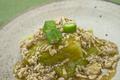 [上田][長野][和食][膳][Japanesefood][食][料理]水茄子のそぼろあん