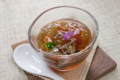 [上田][長野][和食][膳][Japanesefood][食][料理]じゅんさいばい貝ゼリー