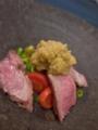 [上田][長野][和食][膳][Japanesefood]たてしな豚のロースト温野菜添え