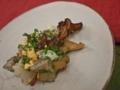 [上田][長野][和食][膳][Japanesefood]つぶ貝の炙りカルパッチョ