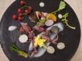 [上田][長野][和食][膳][Japanesefood]新物ホタルイカとボイル野菜のグレック