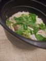 [上田][長野][和食][膳][Japanesefood]鯛の炊き込み釜ご飯