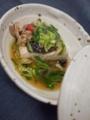[上田][長野][和食][膳][Japanesefood]平鱸のちり蒸し