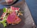 [上田][長野][和食][膳][Japanesefood]本鰹のサラダ仕立て