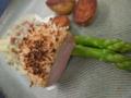 [上田][長野][和食][膳][Japanesefood]イベリコ豚ベジョータのマスタードパン粉焼き