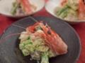 [上田][長野][和食][膳][Japanesefood]海老と鰹のアボカドサラダ