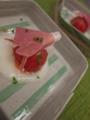 [上田][長野][和食][膳][Japanesefood]フルーツトマトと新たまねぎのピューレ