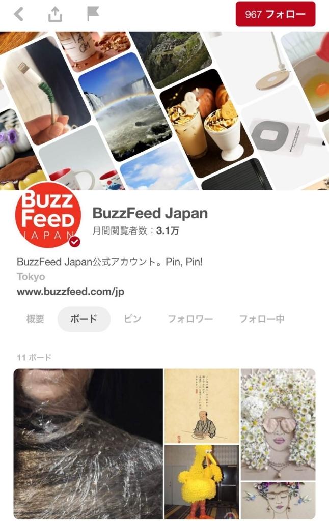 ピンタレスト事例|BuzzFeed Japan