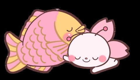桜寝そべる鉢巻きなし修正