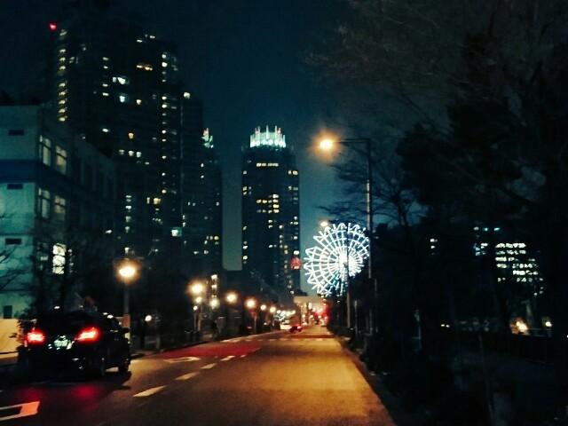 お台場の夜景