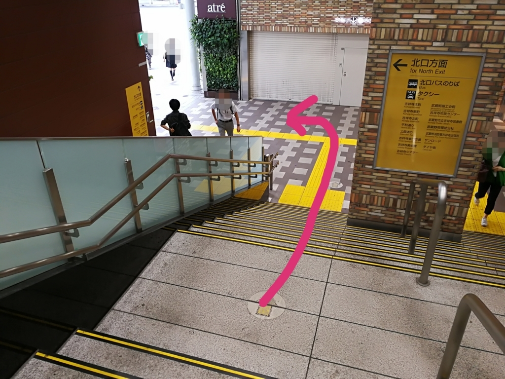 吉祥寺駅北口構内
