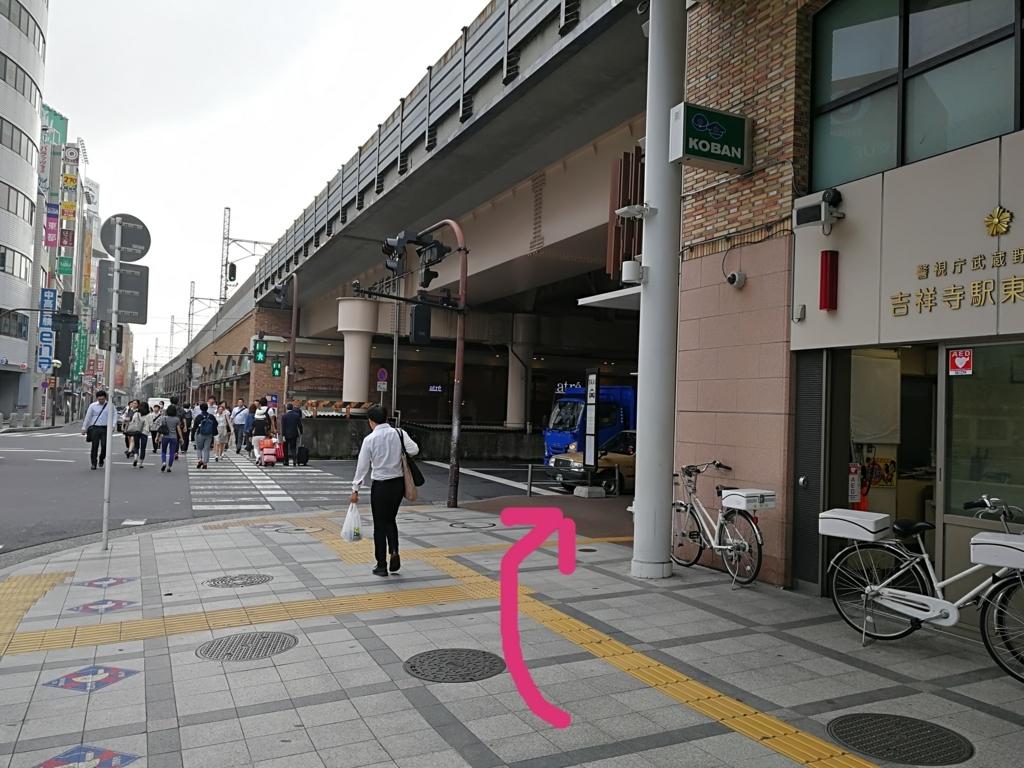 吉祥寺駅東口交番