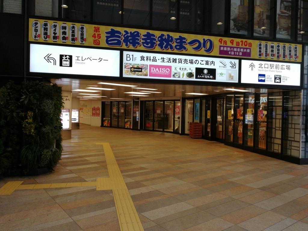 吉祥寺駅南口
