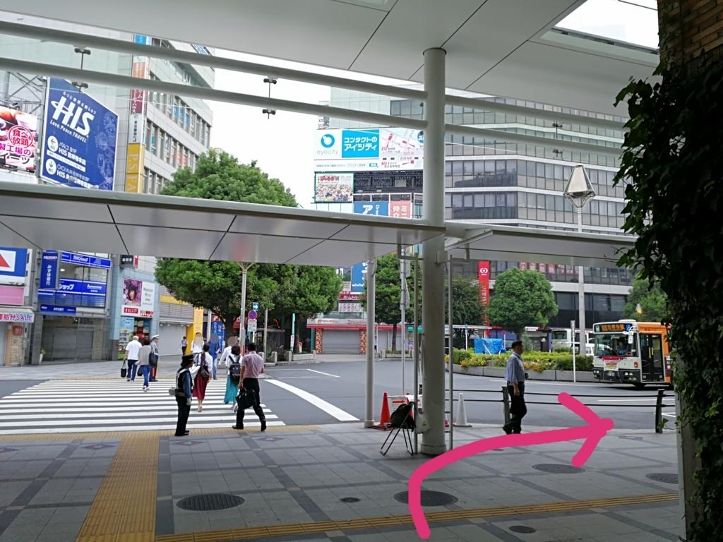 吉祥寺駅バスロータリー
