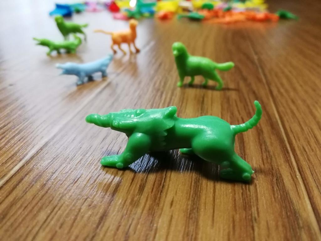 フエラムネ玩具謎の生物