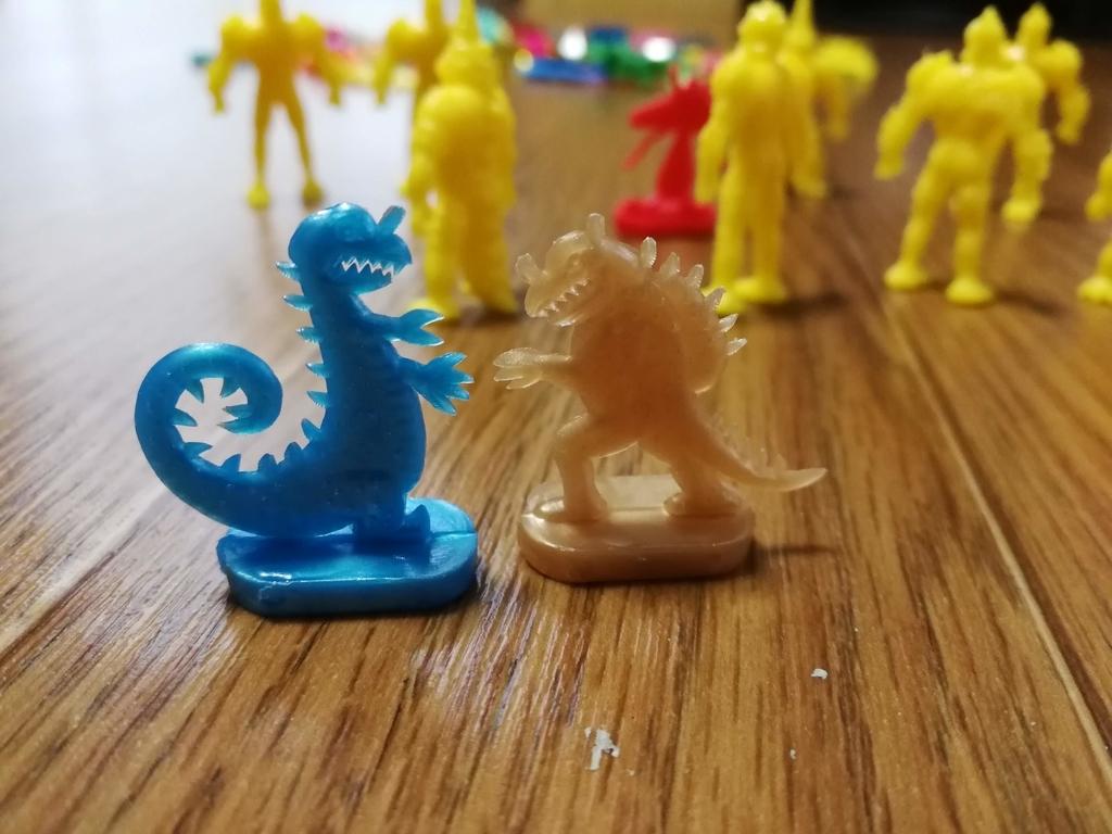 フエラムネ玩具怪獣