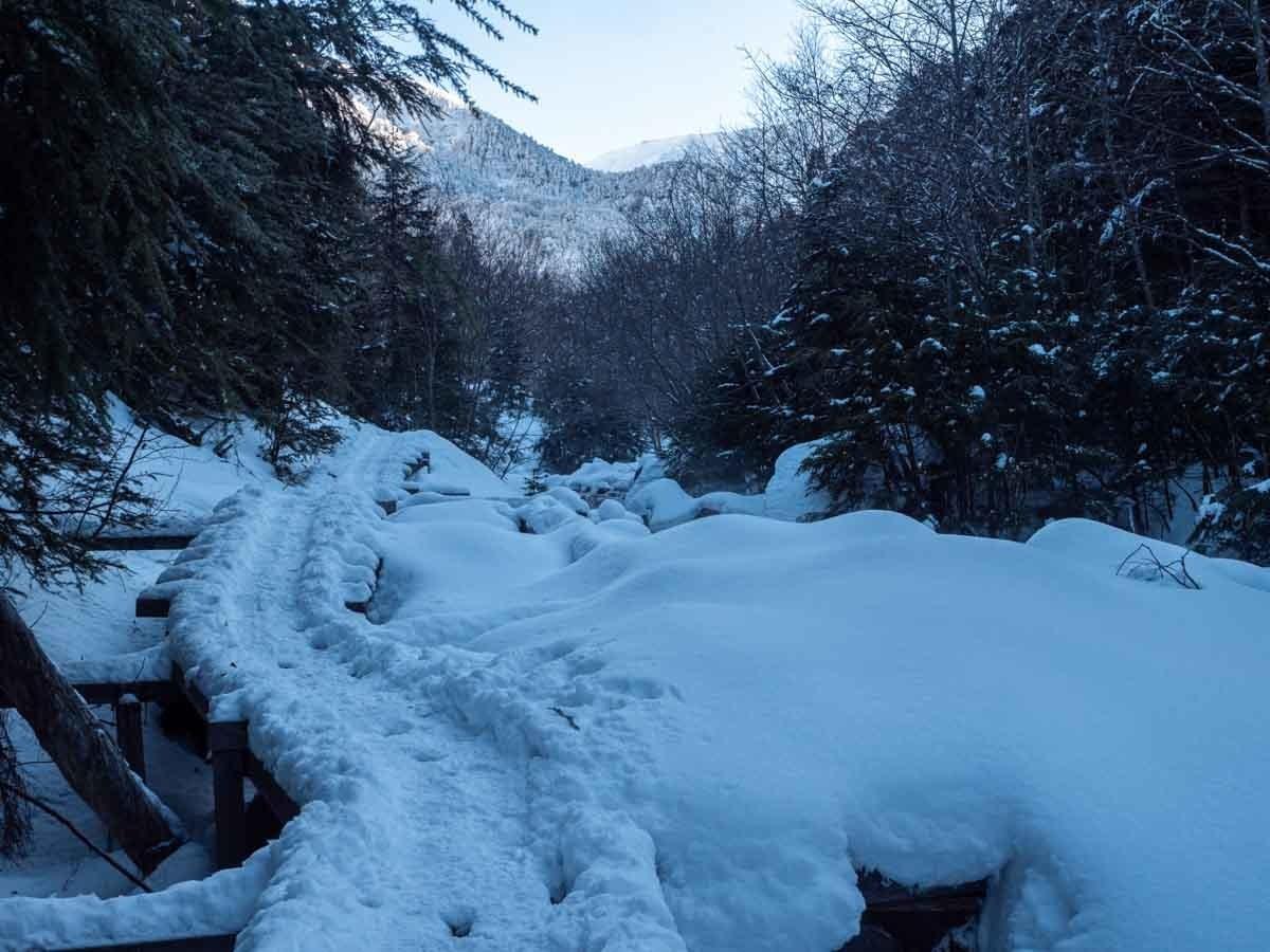 赤岳鉱泉へのアクセス