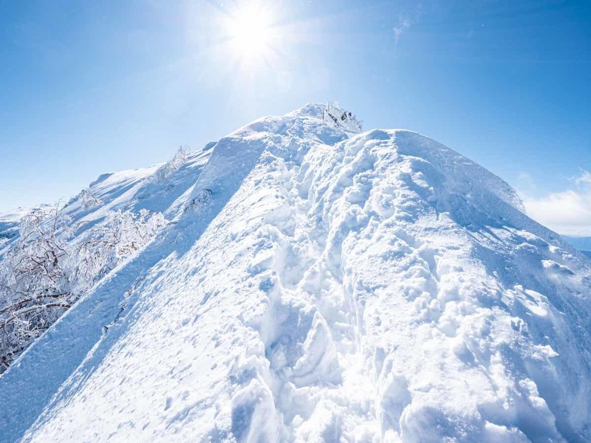 八ヶ岳 横岳 山頂直下