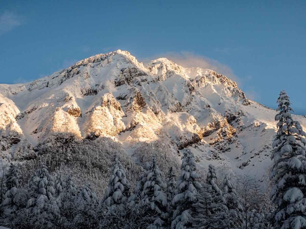 アーベントロートの赤岳