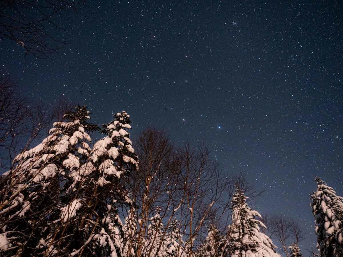 八ヶ岳の星空
